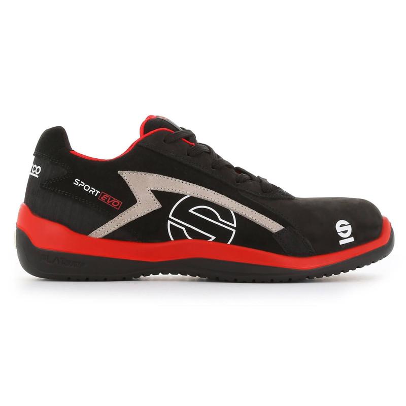 De Evo S3 Métal Chaussures Sparco Src Sport Sécurité Sans Homme XNn0wOPk8