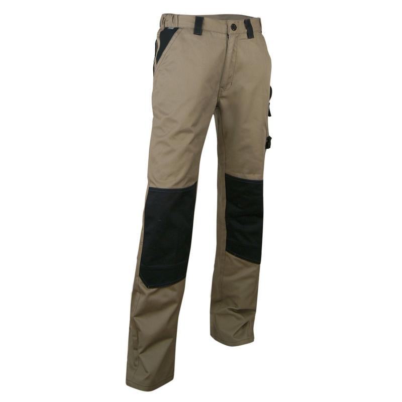 Pantalon de travail BTP PLOMB beige