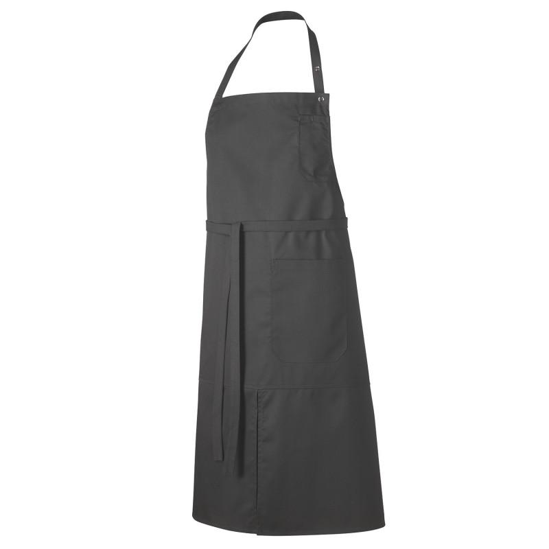 Tablier de cuisine avec bavette professionnel