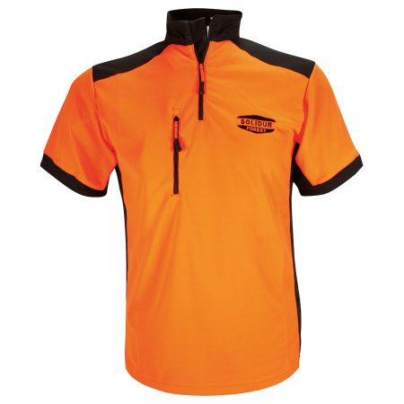 T shirt travail coolmax solidur
