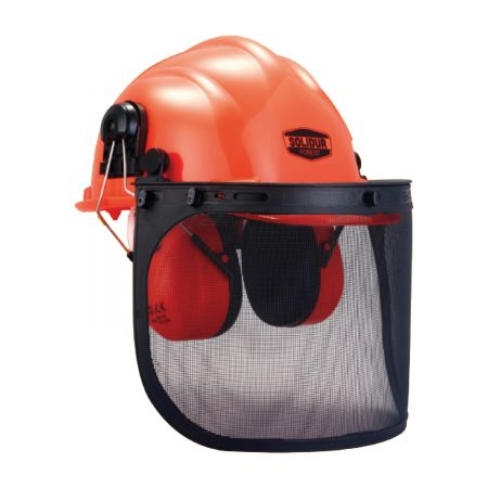casque forestier bucheron solidur