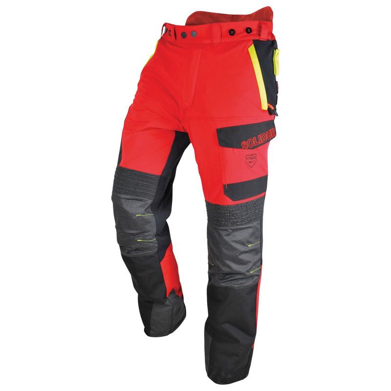 Pantalon anticoupure résistant solidur