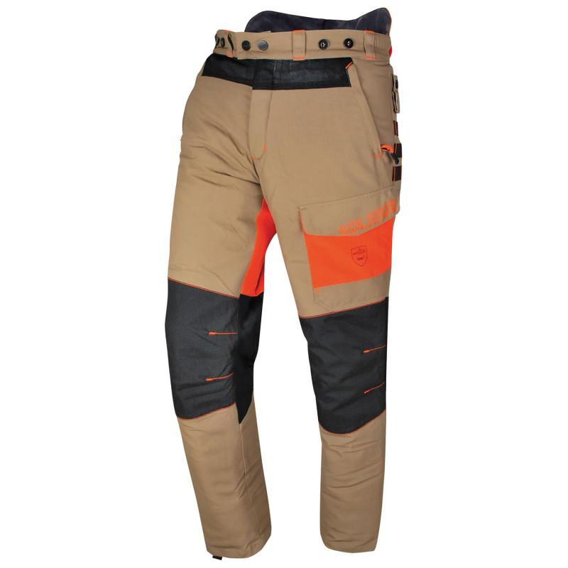bff7e48d3e62fa Pantalon été forestier, bûcheron, élagueur classe 1A | Solidur Sofresh