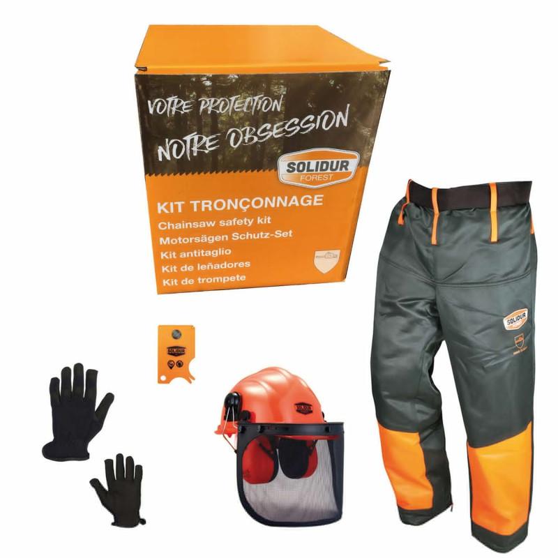 Kit protection bucheron solidur