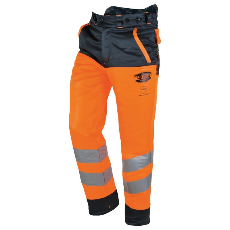 Pantalon anti coupure haute visibilité pas cher