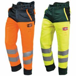 Pantalon haute visibilité anti coupure