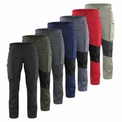 Pantalon de travail léger femme stretch 7159