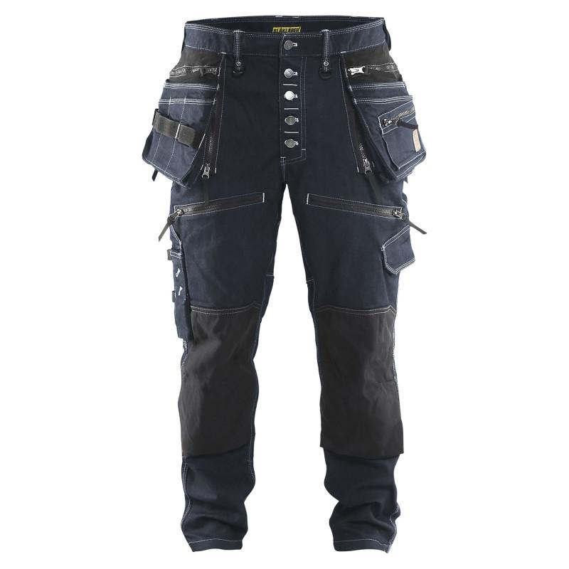 Pantalon cordura denim stretch blaklader