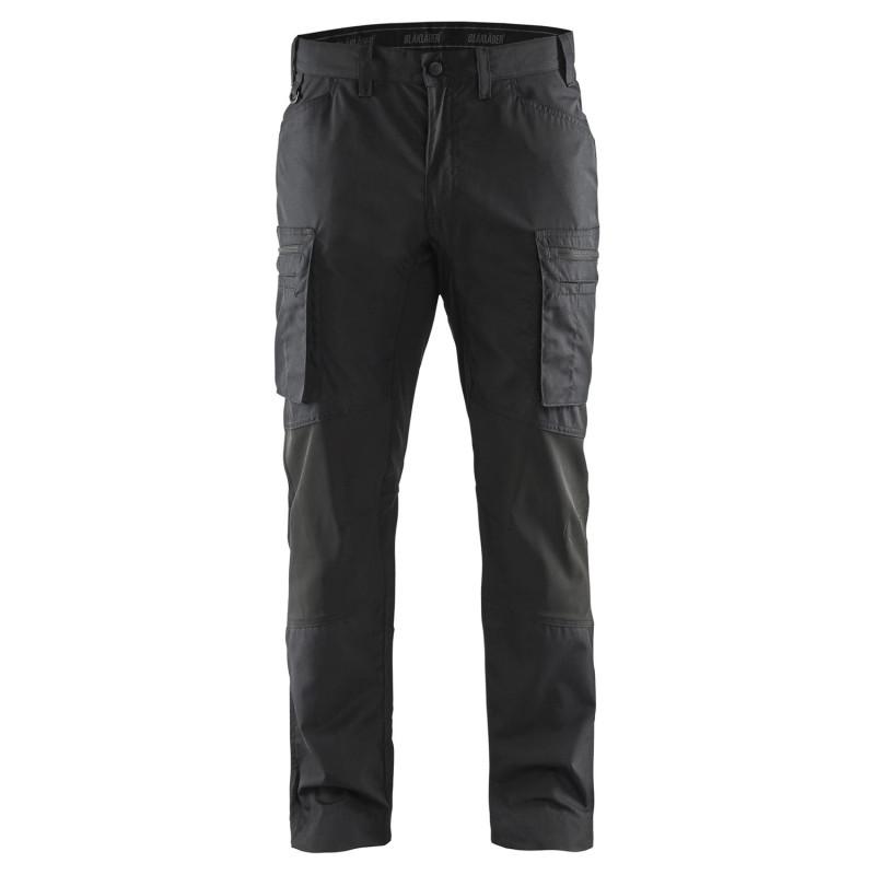 Pantalon travail noir homme