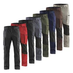 Pantalon de travail léger stretch homme 1459