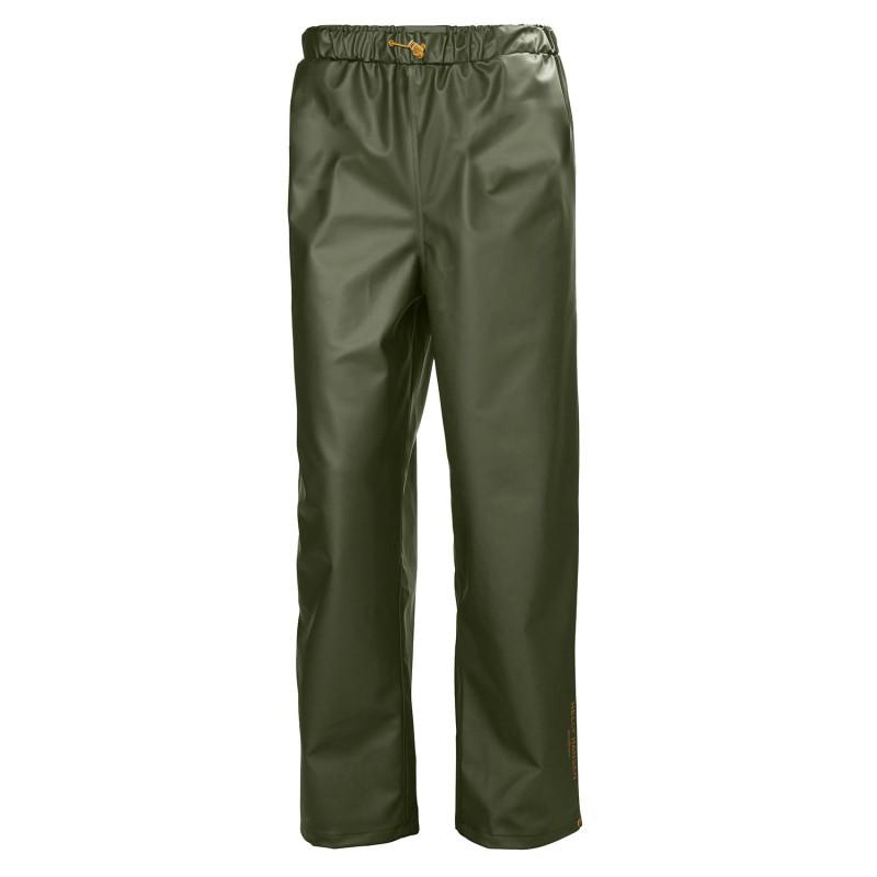 Pantalon travail étanche vert