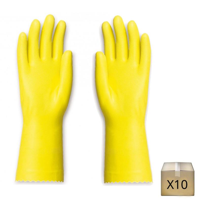 gant latex ménage professionnel