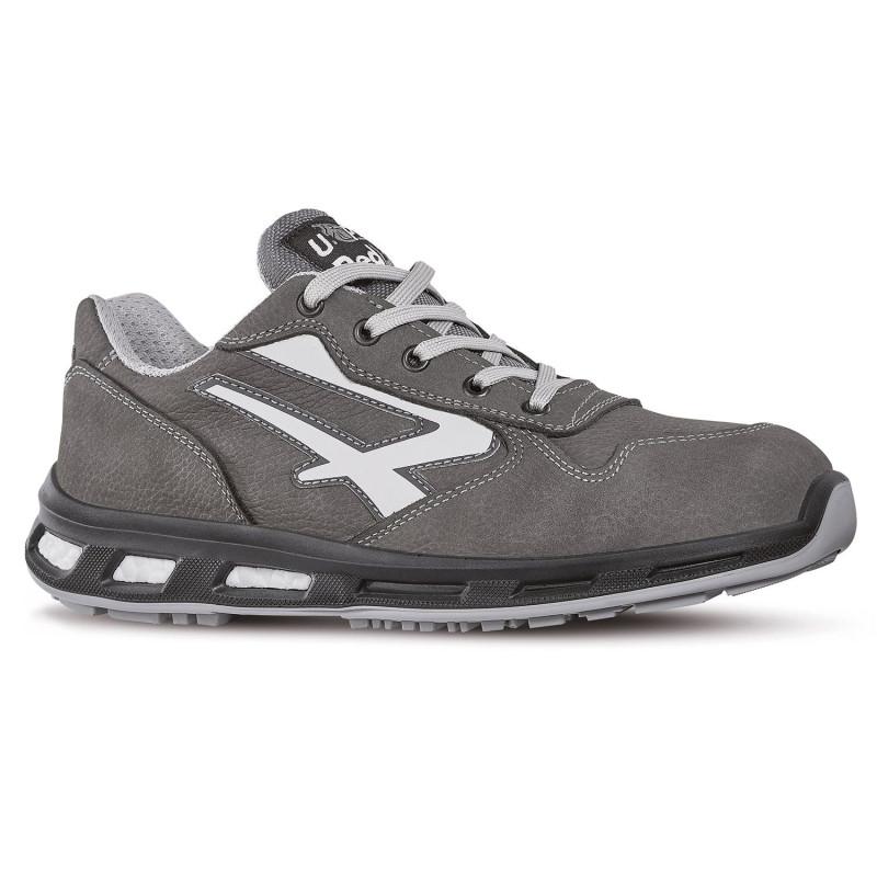 Chaussures de sécurité grises upower redlion S3 SRC KICK