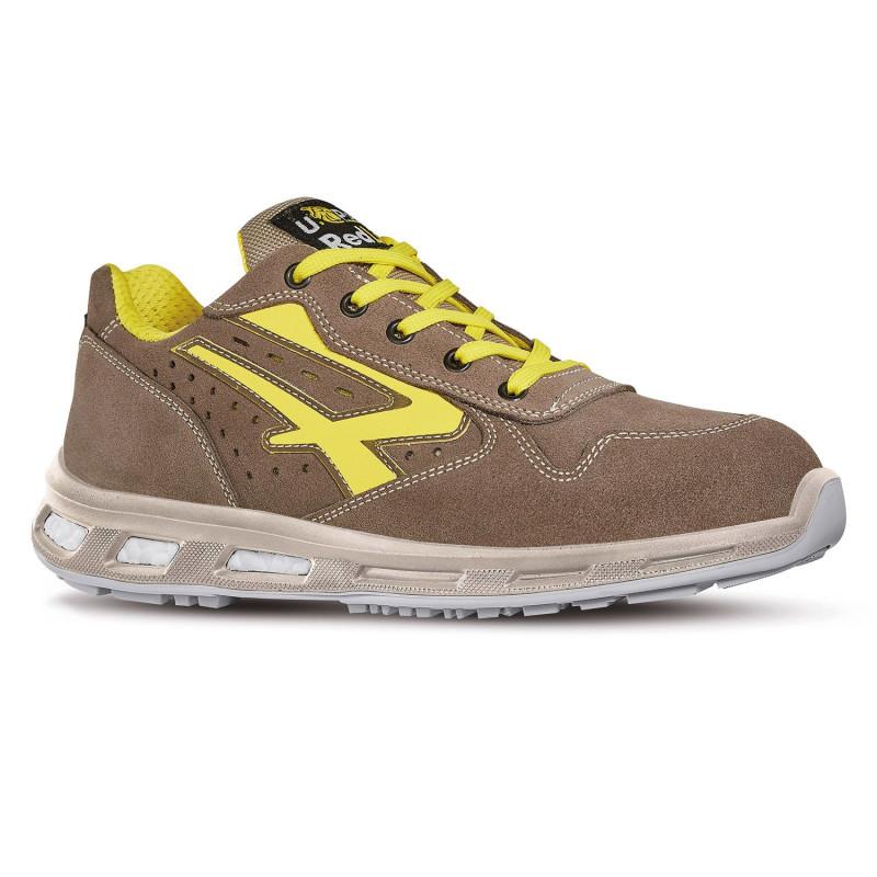 Chaussures de sécurité beige Upower redlion