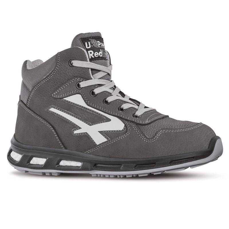 Chaussures de sécurité hautes grises upower redlion S3 SRC INFINITY