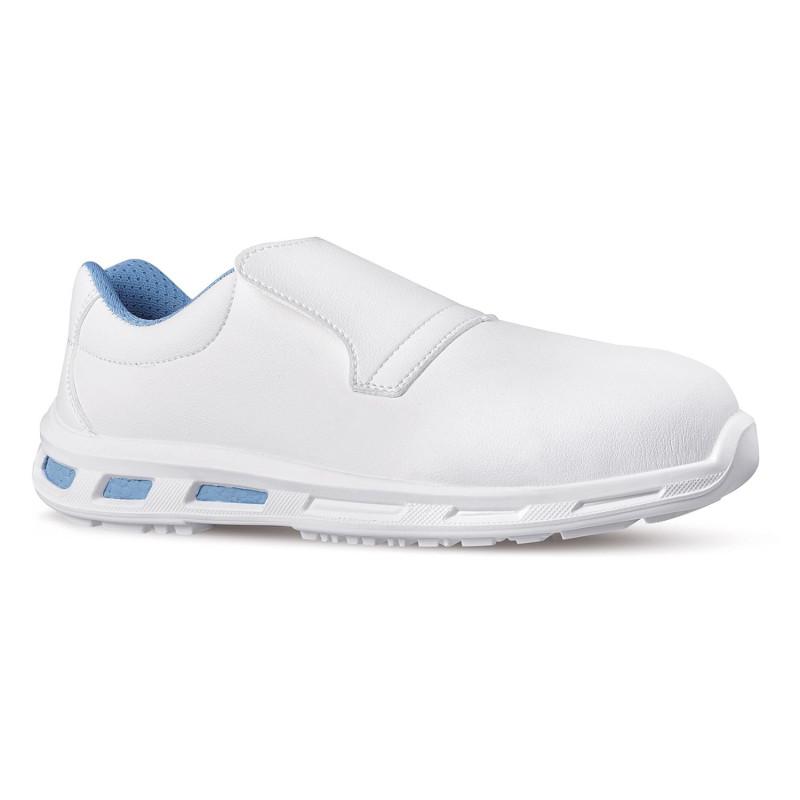 Chaussures de sécurité cuisine blanches Upower RedLion S2 SRC BLANCO