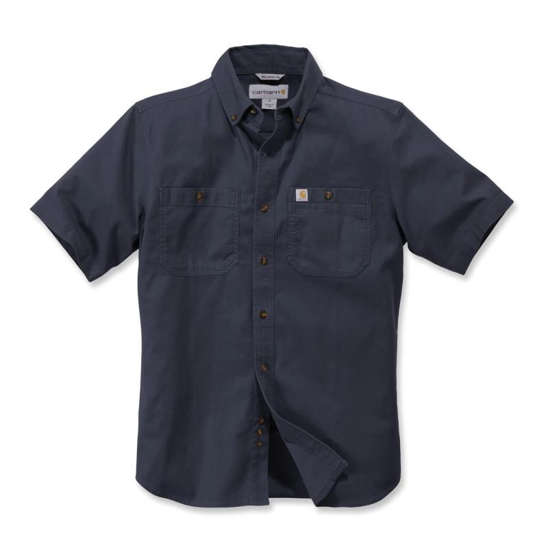 Chemise travail bleu marine