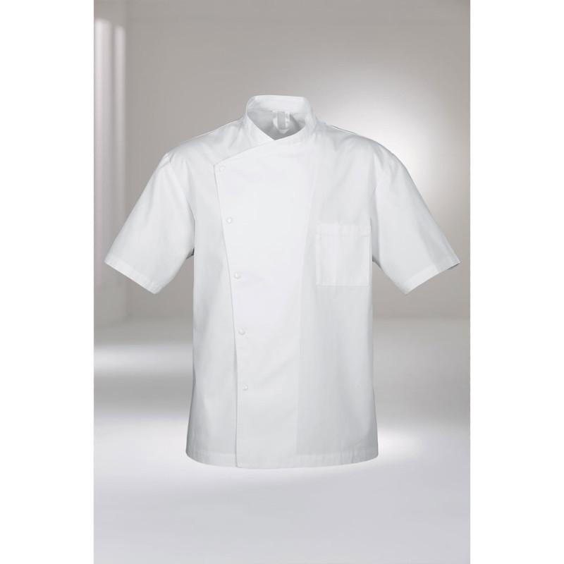 bragard julius veste cuisine blanche manches courtes