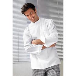 veste de cuisine blanche julius bragard manches longues