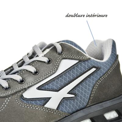 chaussure de sécurité doublée