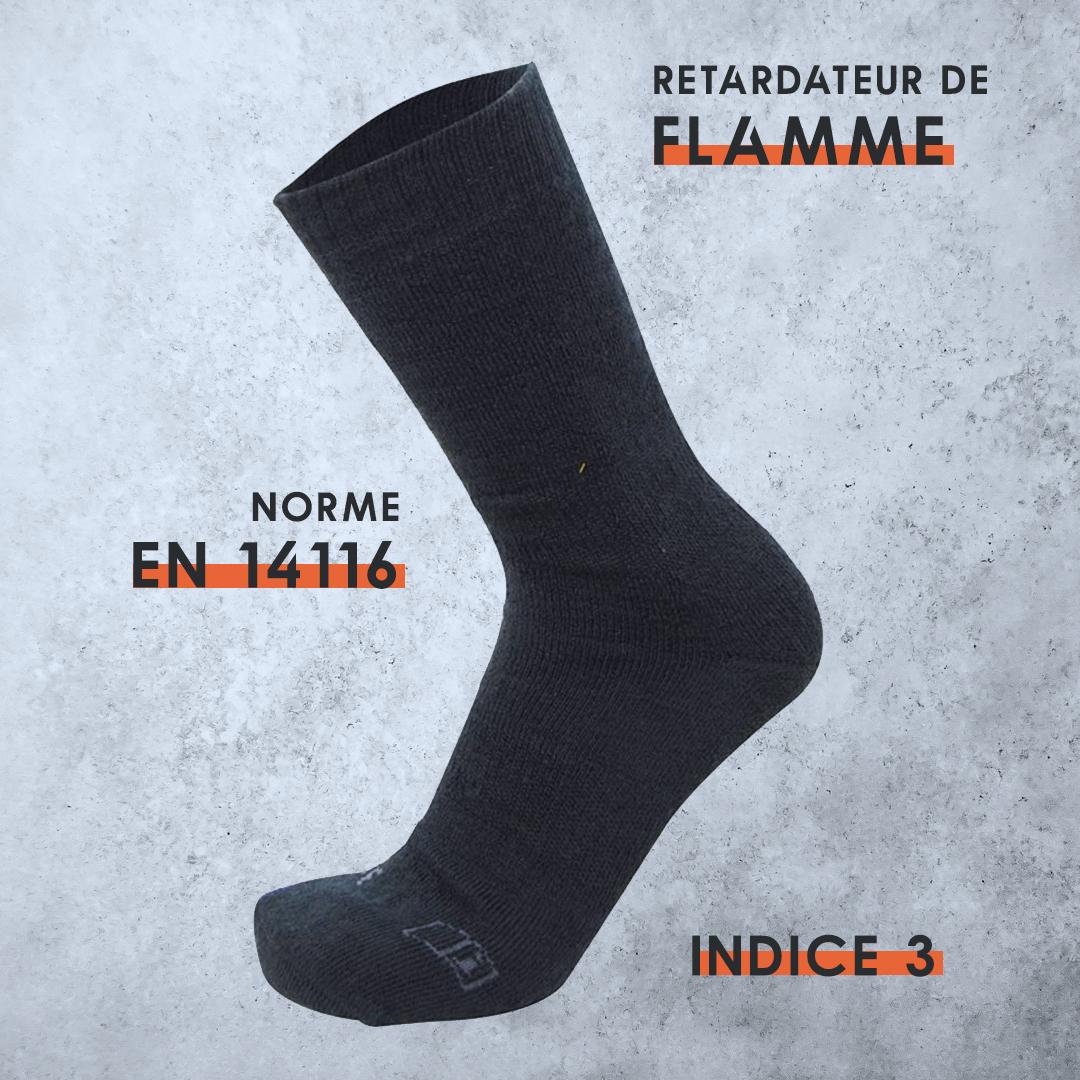chaussette anti feu
