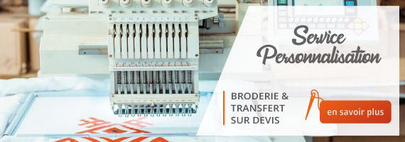 personnalisation vetementpro broderie transfert