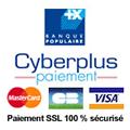 Paypal paiement - SSL 100% sécurisé - CB Visa Mastercard